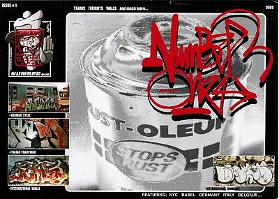 Number One Issue1 Graffiti Magazin - 1999 - Sehr Gut
