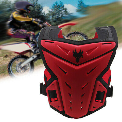 Motocross Dirt Bike ATV Racing Armor Chest Protector Back Guard Vest Gear New