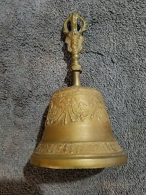 Very Detailed Antique Brass Bell