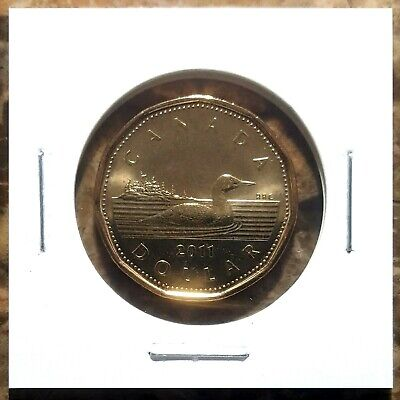 Canada 2011 Loonie BU UNC From Mint Roll!!