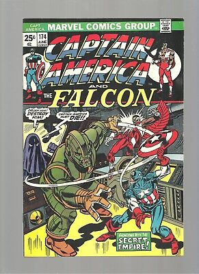 Captain America #174  High Grade 9.6  Copy  X-Men Crossover