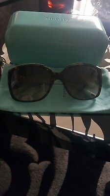 d63408bb33e3 Tiffany sunglasses genuine. Authentic ladies used sunglasses . With box