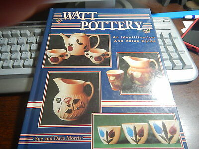 Antique Reference Book Watt Pottery by Sue and Morris Davis
