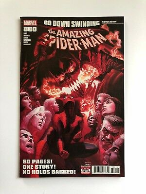 Amazing Spider-Man #800 (2018) Alex Ross Cover  Red Goblin Nm/nm+