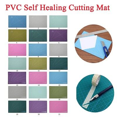 A3 A4 A5 PVC Self Healing Cutting Mat Non Slip Cut Pad Patchwork Handmade Craft