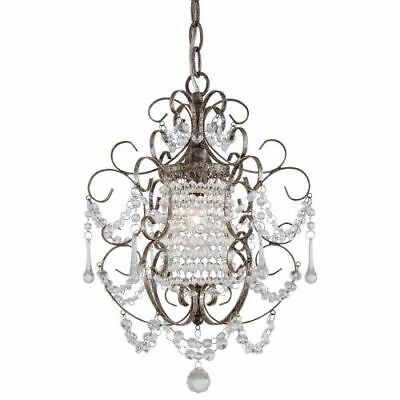 Minka Lavery 3121-333 1-Light Crystal Chandelier, Mini Chandeliers Collection