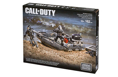 Call Of Duty RIB Beach Assault Mega Bloks Collector Series 06815 Boot DCL25