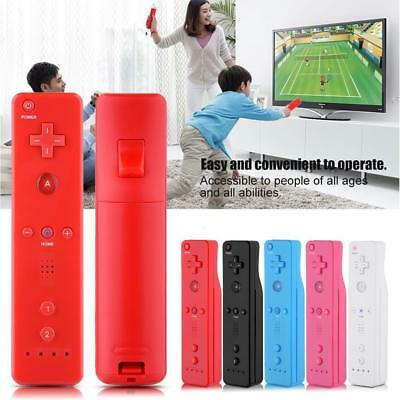 Built in Motion Plus Remote+Nunchuck Controller+Case Cover for Nintendo Wii/WiiU