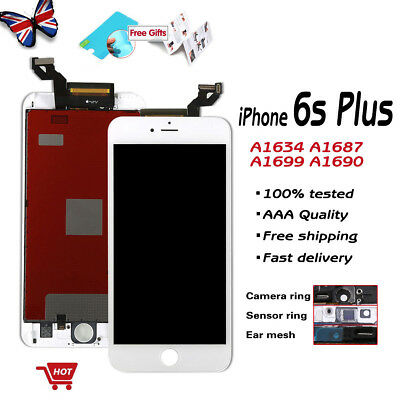 For iPhone 6s plus Screen Replacement LCD Touch Display Digitizer Assembly White