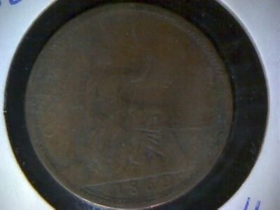 Great Britain 1862 Penny
