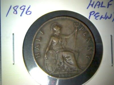 Great Britain 1896  Half Penny