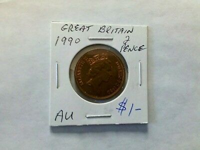 Great Britain 1990 2 New Pence
