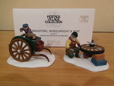 Dept 56 Dickens Village - C. Bradford, Wheelwright & Son