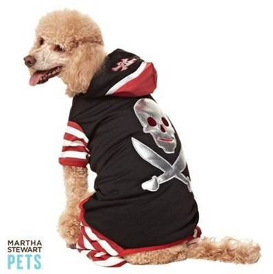 NWT Martha Stewart Pets Pirate Costume for Dogs Dog Size Extra Small Halloween