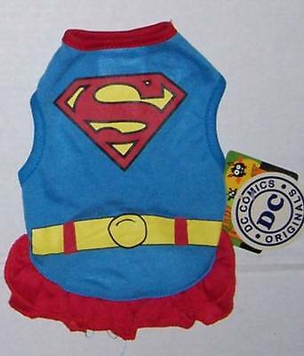 DC Comics Supergirl Dog Costume Size Small NWT Halloween