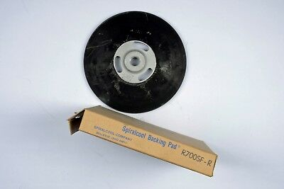 """SPIRALCOOL BACKING PAD R700SF-R 7"""" Disc Pad Face Plate Smooth"""