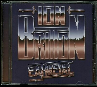 Ion Britton Eat Metal CD new Cult Metal Classics