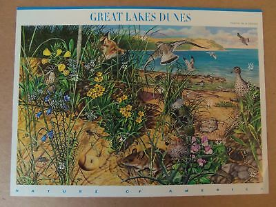 Us Mnh # 4352  Great Lakes Dunes Nature Of America 2008 Pane Of 10 Stamps