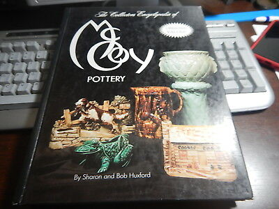 Antique Reference Book McCoy Pottery Sharon and Bob Huxford