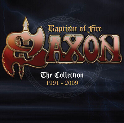 Saxon : Baptism of Fire: The Collection 1991-2009 CD 2 discs (2016) Great Value