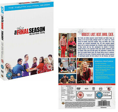 THE BIG BANG THEORY 11 (2017-2018) Comedy TV Seasons Series - NEW Rg2 DVD not US