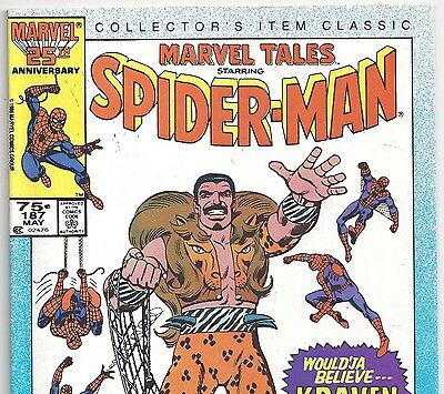 The Amazing Spider-Man #47 Reprint in Marvel Tales #187 from May 1986 in F/VF NS