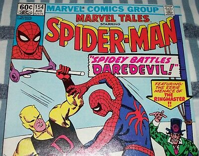 The Amazing Spider-Man #16 Reprint in Marvel Tales #154 from Aug. 1983 in VF-