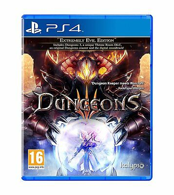 Dungeons 3 (PS4) BRAND NEW SEALED PLAYSTATION 4 EVIL EDITION