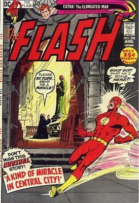 FLASH #208 VG/F, Neal Adams cover, 48 pages, DC Comics 1971 Stock Image