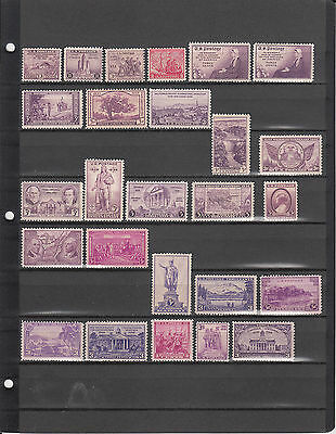 15 Old 50-80 Year Old Mnh Us Postage Stamps From Sons Estate N Glassine Envelope