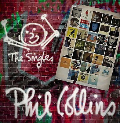 PHIL COLLINS The Singles 3CD Deluxe Edition BRAND NEW 2016