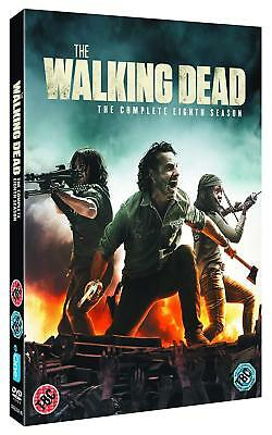 THE WALKING DEAD 8 (2017-2018) Zombie Action TV Season Series NEW Rg2 DVD not US