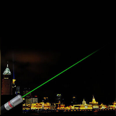 1mW POWERFUL GREEN LASER LAZER POINTER PEN HIGH POWER PROFESSIONAL 532nm UK