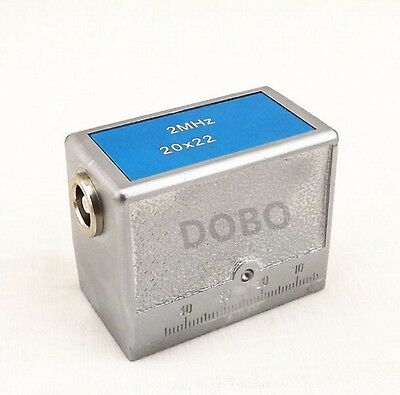 2MHz 20×22 60° Angle Beam Transducer Probe,Ultrasonic UT Flaw Detect #N00A