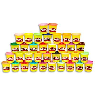 Play Doh 36 Bulk Mega Tubs Set - Can of Modelling Doughs Kids Toys Games Ages 2+
