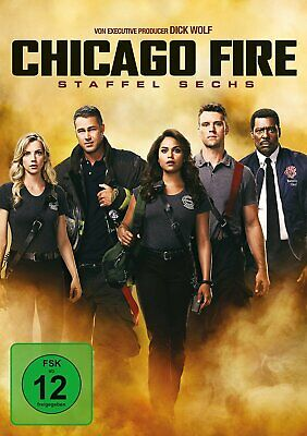 Chicago Fire - Season/Staffel 6 # 6-DVD-BOX-NEU