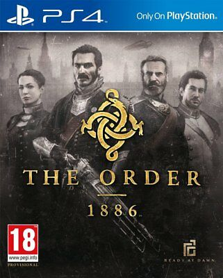 The Order: 1886 (PS4)  BRAND NEW AND SEALED - IN STOCK - QUICK DISPATCH