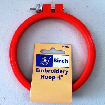 """Plastic hoop for embroidery or cross stitch 4"""" (10cm)"""