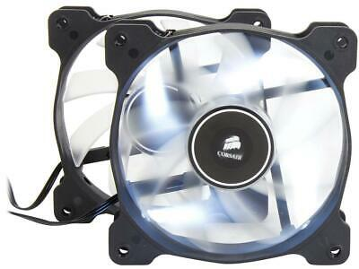 Corsair Air Series AF120 LED 120mm Quiet Edition High Airflow Fan Twin Pack Bl