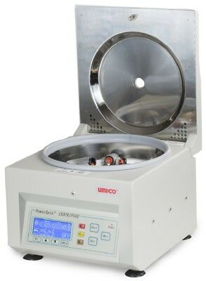 NEW Unico C8706 PowerSpin DX Horizontal Rotor Variable Speed Benchtop Centrifuge