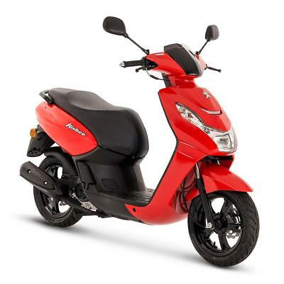 Peugeot Kisbee 50Cc Scooter - Red - Brand New - Unregistered - Free Topbox