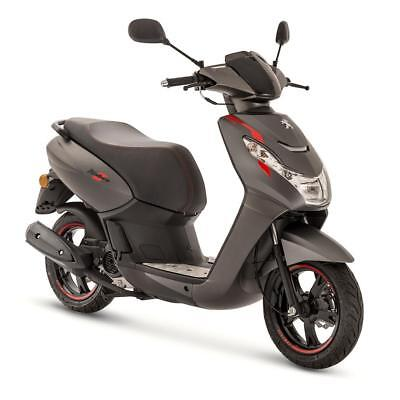 Peugeot Kisbee Rs 50Cc Scooter - Grey - Brand New - Zero Miles - Unregistered