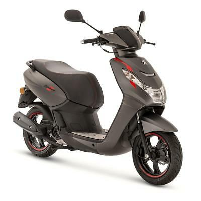 Peugeot Kisbee Rs 50Cc Scooter - Grey - Brand New - Unregistered - Free Topbox
