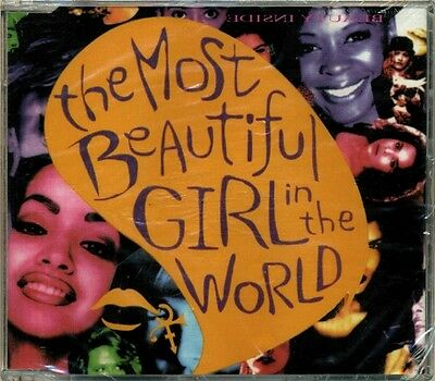 Prince (love symbol) - the Most Beautiful Girl in the World RARE OOP CD EP (New)