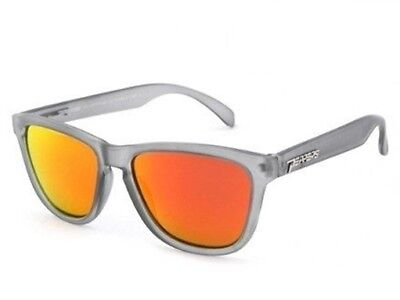 3c4e94997db NEW Peppers 2-Step Grey Red Mirror Polarized Mens Sunglasses Msrp 35