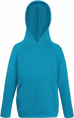 Kinder Hoodie Lightweight Hooded Sweat Kids von Fruit of the Loom # kapuzenpullo
