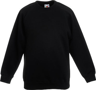 Kinder Sweatshirt Classic Raglan Sweat Kids von Fruit of the Loom # sweater