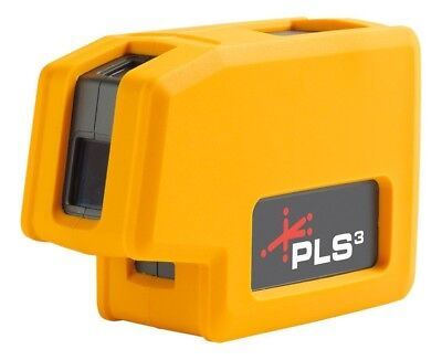 Pacific Laser Systems PLS-60523N PLS 180 3-point Red Beam Laser Level