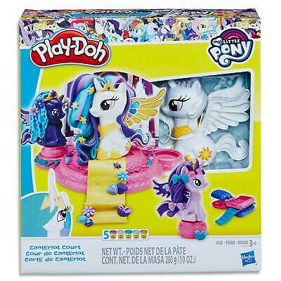 Play Doh My Little Pony Canterlot Set - Dough Cans & Tools - Toys Games Kids 3+