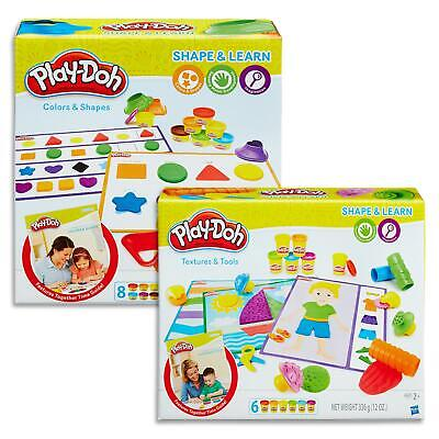 Play Doh Shape & learn - Colours Shapes, Textures Tools - Toys Games Kids 2+